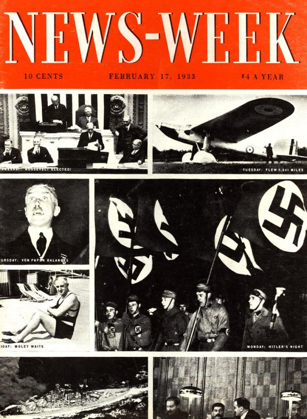 Primer ejemplar de Newsweek, Febrero 17 1933