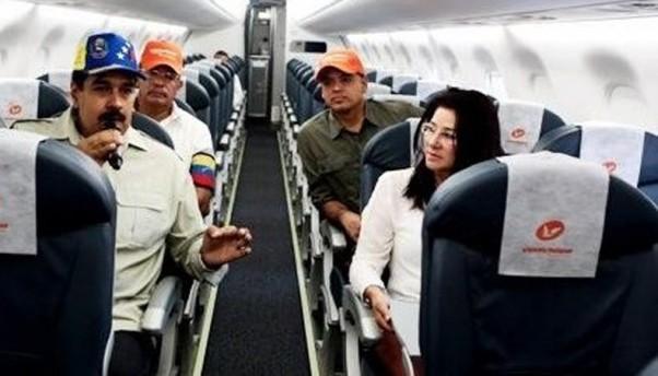 El avion del Socialismo del S XXI